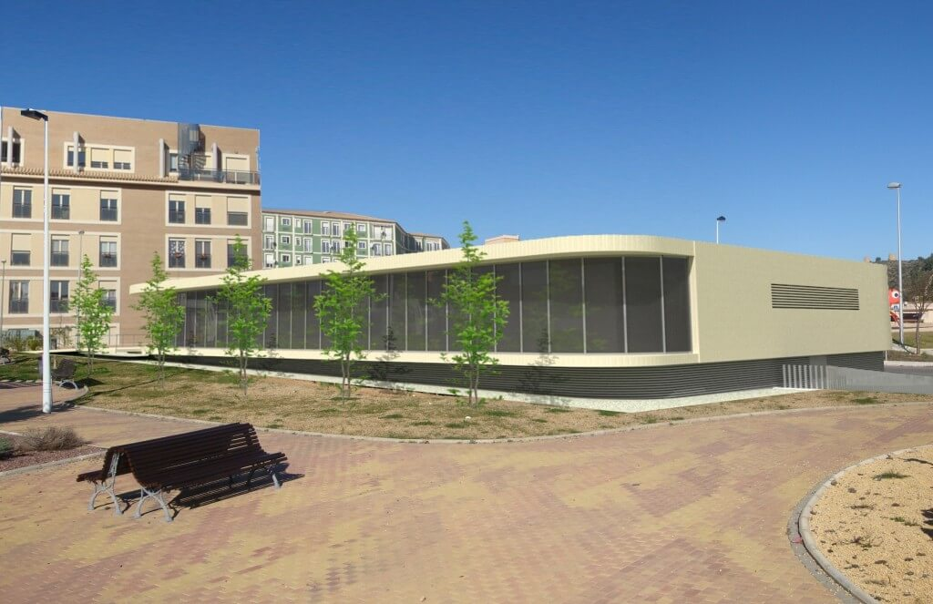 Gmg arquitectos castell n centro de salud en pedreguer - Arquitectos en alicante ...