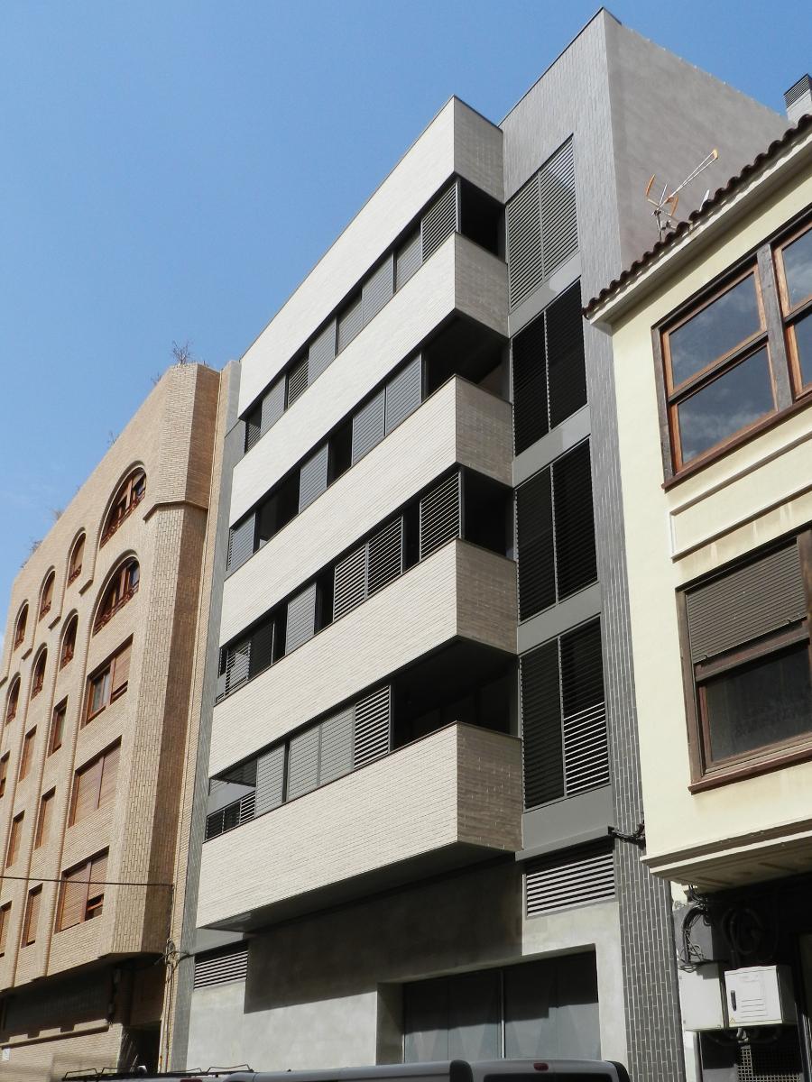 Gmg arquitectos castell n edificio de 5 viviendas - Arquitectos castellon ...