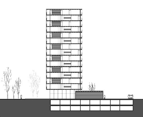 Gmg arquitectos castell n edificio de 158 viviendas - Arquitectos castellon ...