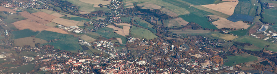 aerial-view-of-a-town